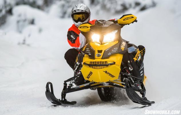 2014 Ski-Doo XRS 800 E-TEC Action