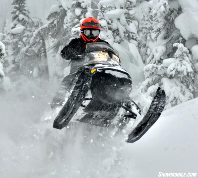 2014 Ski-Doo XM Summit SP Action Jump