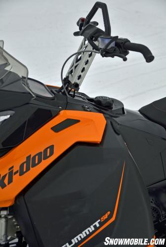 2014 Ski-Doo XM Summit SP Handlebars
