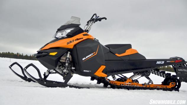 2014 Ski-Doo XM Summit SP Profile