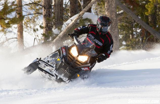2014 Polaris 600 Switchback Action Front
