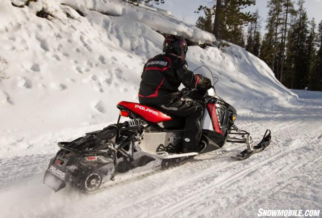 2014 Polaris 600 Switchback Action Rear