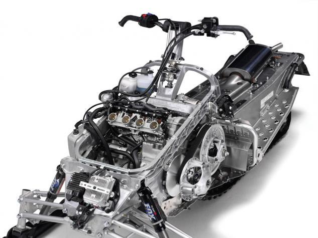 2014 Yamaha Apex XTX Bare Chassis