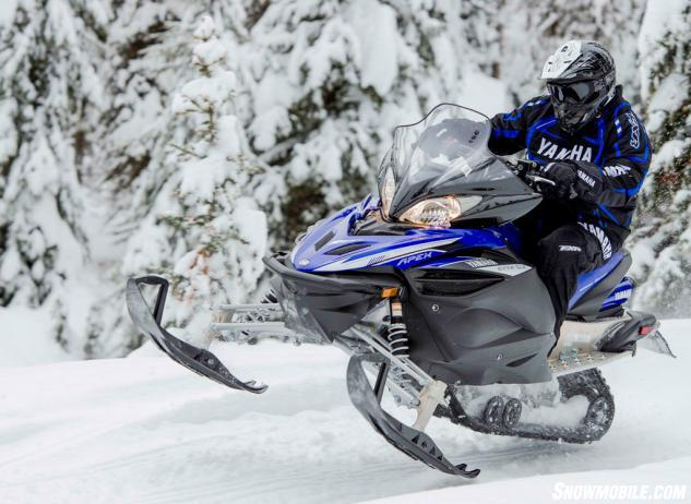 2014 Yamaha Apex Action Jump