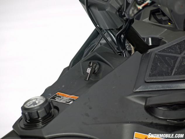 2014 Polaris 550 Indy Voyager Flipper Choke