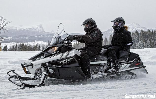 Snowmobile  Arctic Cat Bearcat  Xt Limited