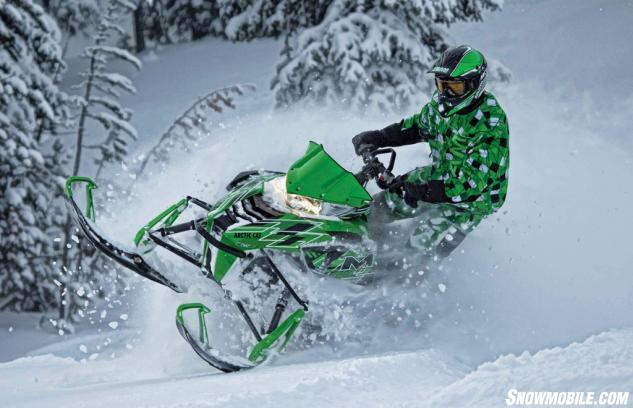 Arctic Cat Snowmobiles : Arctic cat snowmobile lineup preview