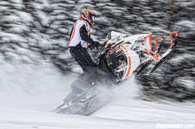 2015 Arctic Cat XF9000 CC LTD Action