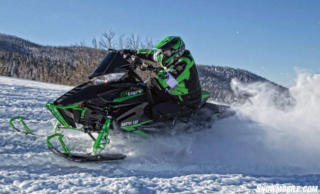 2015 Arctic Cat ZR 7000 El Tigre Action