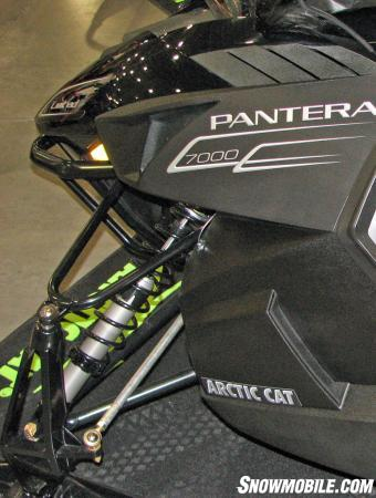 2015 Arctic Cat Pantera 7000 shocks