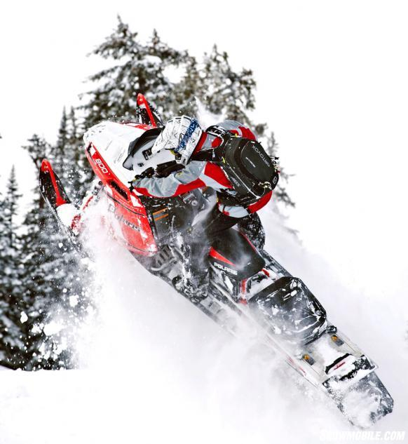 2015 Polaris 800 Pro-RMK 163 SC Action