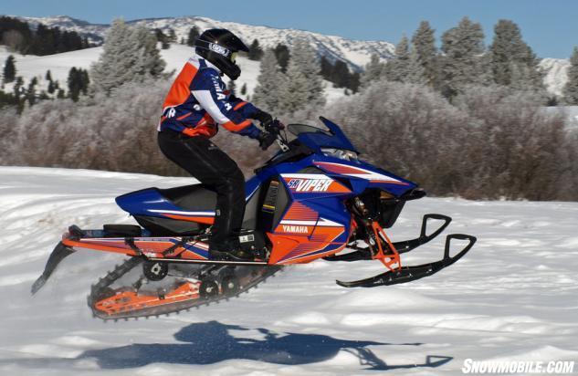 2015 Yamaha SR Viper RTX SE Action Jump
