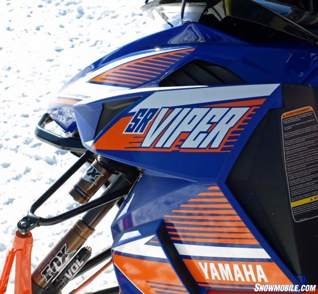 2015 Yamaha SR Viper RTX SE Fox EVOL