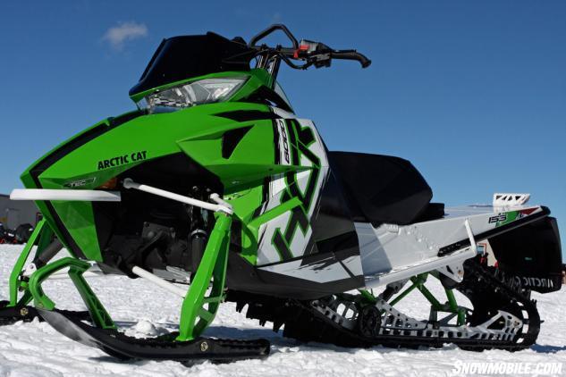 2015 Arctic Cat ProClimb M8000 HCR Review - Snowmobile.com