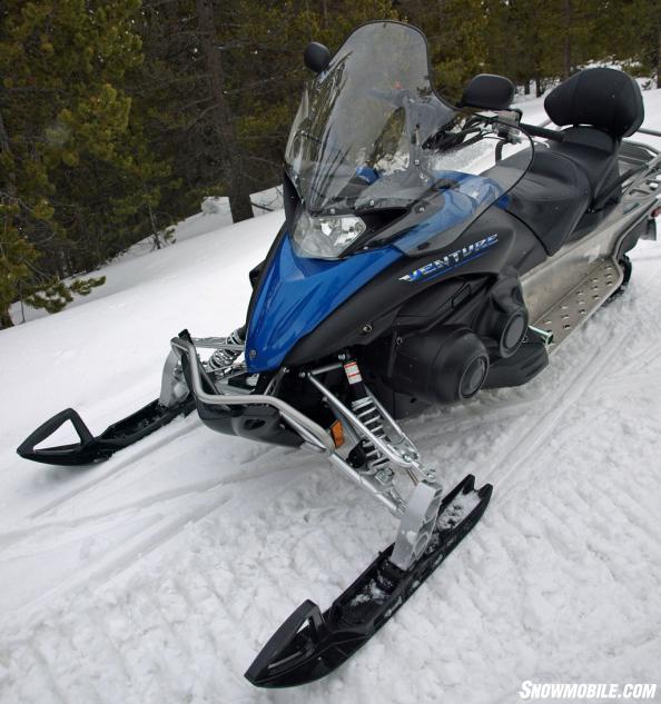 Yamaha Venture Snowmobile Review
