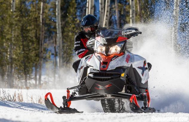 2016 Ski-Doo Renegade X Action