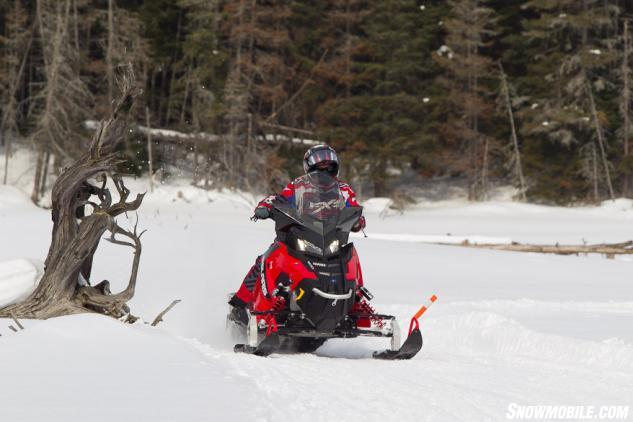 Sceninc Ontario Snowmobile Trails