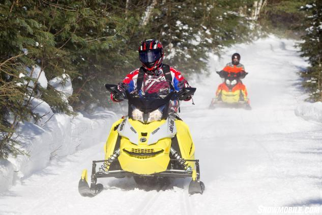 Ski-Doo MXZ 900 ACE Trail Riding