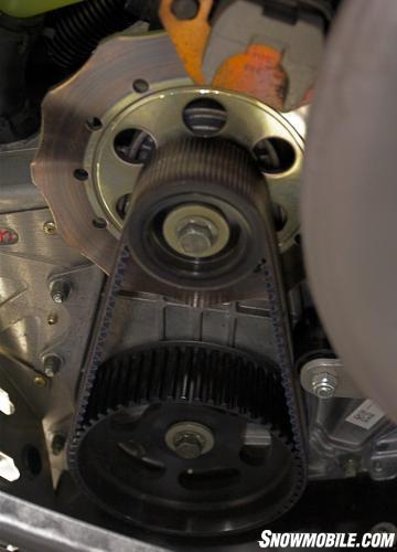 Fire and Ice Belt Tensioner
