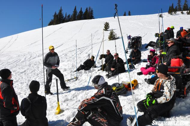Mike Duffy Avalanche Training