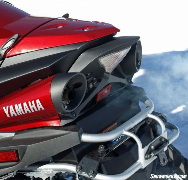 2016 Yamaha Venture TF LE Exhaust Damper