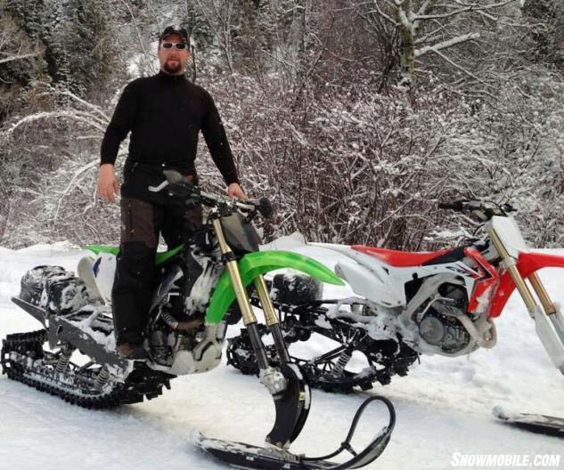 Inside The Snowbike Scene Snowmobile Com