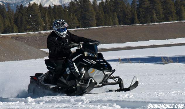 2016 Polaris 800 Rush Pro-S LE Action Weight Transfer