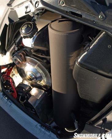 2016 Polaris 550 Indy Voyageur 144 Exhaust Brake
