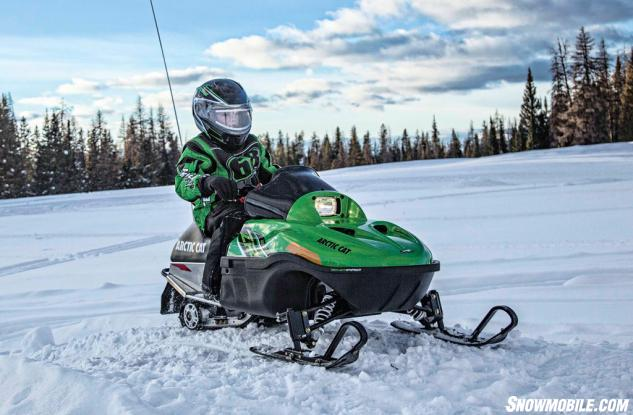 2016 Arctic Cat ZR120 Action