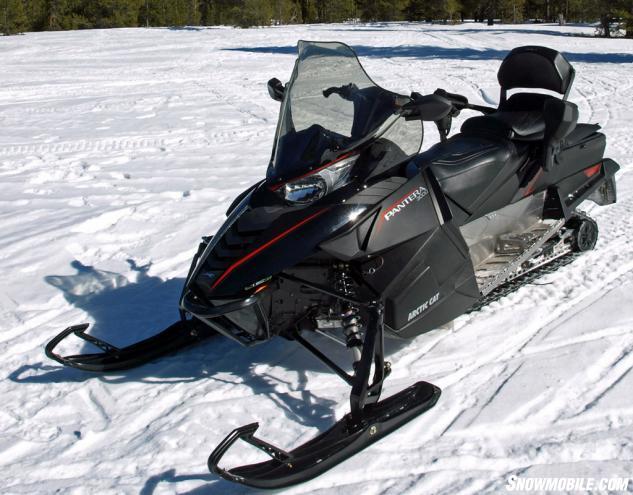 2016 Arctic Cat Pantera 3000 Review - Snowmobile.com