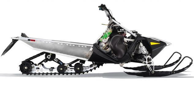 2016 Polaris 550 Indy LXT Chassis