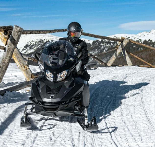 "Available to early season buyers, Ski-Doo's top of the line Expedition SE overshadowed the ""LE"" with its air ride suspension and other amenities like tilt steering and a standard cargo box."