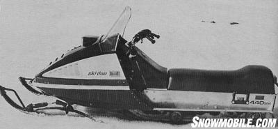 The 1974 Everest was sleekly styled and aluminum-bodied.
