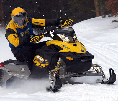 mxz doo ski 2009 500ss action trail fan cooled snowmobile weight bumper better 550x rev xp while reflex front buys