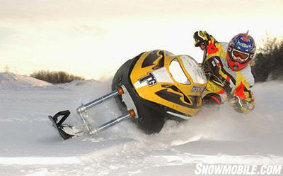 Currently AD Boivin's Snow Hawk holds the monopoly on snow bikes.
