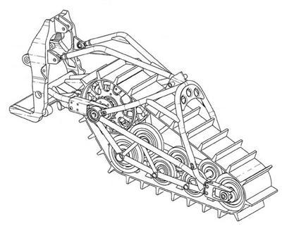 Thinking outside the skidframe could bring us a swing-arm rear suspension.