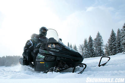 Power, handling and comfort highlight Arctic Cat�s TZ1 Turbo Touring.