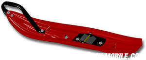 Starting Line Products is one aftermarket manufacturer offering special lightweight skis like this Powder Pro design for powder riding.