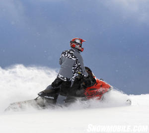 A 146-inch track with 2.125-inch lugs handles most powder conditions.