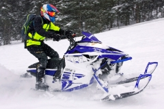 This year there hasn't been any shortage of powder in the West, the Yamaha Viper has proven to be a powder worthy mountain sled.
