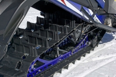The 3 inch Power Claw track continually worked this winter, continually grabbing snow, propelling the Viper forward.