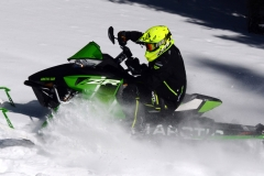 If desiring a race ready ZR 8000, then grip an RR and pretend the snowmobile racing gods have crowned you master of trail, lake and ditch. The ZR 8000 RR is, well, remarkable to pilot.
