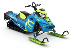In Octane Blue the rugged and stout backcountry freestyle-playing Freeride returns to modelyear 2017 as it came to market in 2016. Why change a good thing? The Freeride is a wicked fun.