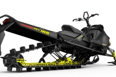 The new deep-lug and lighter FlexEdge track and lighter tMotion rear suspension, give the Gen-4 REV Summit mobility and floatation like no other Summit in Ski-Doo's history.