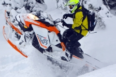 The 154 Summit X 850 is a powder killer. The 850 motor feels like an 800 but with, well, more.....more power, more torque, more of everything Westerners want.