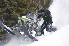Bret Rasmussen founder of Ride Rasmussen Style prefers the BCA Mountain Pro Airbag vest.  The airbag and vest have been combined into one convenient package.  A shovel, probe, and BC Link Radio fit nicely into the pack.