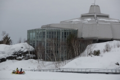 Snowmobiling-Sudbury