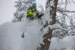 KLIM-Timbersled-Snowbike-Action-2