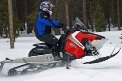 2017-Polaris-Switchback-SP-144-Action-Jumping-Off-Trail