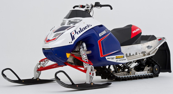 2012 Polaris 600 IQ Race Sled Unveiled - Snowmobile com